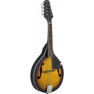 "Stagg Model M20 ""A"" Style Violinburst Finish Bluegrass Mandolin w/geared tu"
