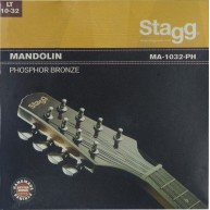 Stagg Light Phosphor Bronze Strings for Mandolin (010-014-023-032) #MA-1032