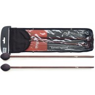 Stagg Model SMM-WH Pair of Marimba Mallets - Wool Wrapped Hard Head