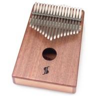 Stagg All Mahogany 17-Key Professional Kalimba / Thumb Harp - #KALI-PRO17-M