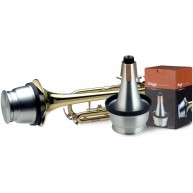 Stagg Model MTR-C3A All-Aluminum Cup Mute for Trumpet