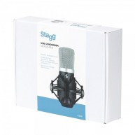 Stagg SUM40 USB Electret Condenser Microphone - Great for Podcasts