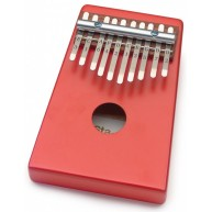 Stagg Kids 10 Key Basswood Kalimba / Thumb Piano w/Bag - Red # KALI-KID10-R