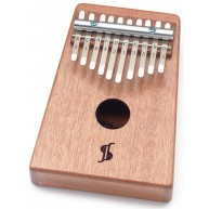 Stagg All Mahogany 10-Key Kalimba / Thumb Harp - Natural #KALI-PRO10-MA