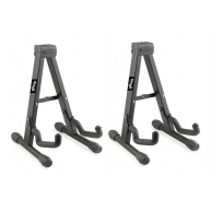 Lot of 2 Stagg Model SUVM-A100BK - A-Frame Stand for Ukulele, Violin, & Mor