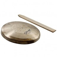 """Stagg Model OHG-220  8.6"""" Diameter Opera Hand Gong with Beater"""