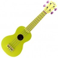 Stagg US-LEMON Soprano Ukulele with Gig Bag in a Great Lemon Yellow Finish