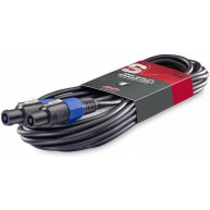Stagg 33ft Professional 16 Gauge Speaker Cable Speakon Jack SSP10SS15 PA sy