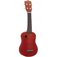 Hilo Model 2658 Offset Soundhole Soprano Size Ukulele with Gig Bag