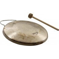 """Stagg Model OJG-280  11"""" Diameter Opera Jing Gong with Mallet"""