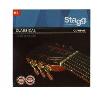 Stagg CL-HT-AL Nylon and Silver Plated Wound Set of Strings for Classical G