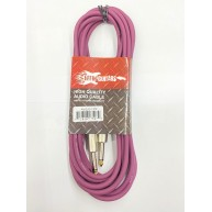 Effin Guitars FNG20CPP Purple 20 Foot Pro Guitar Cable w/Noise Free Connect