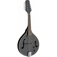 Stagg Model M50E/BLK Black Acoustic/Electric A-style Bluegrass Mandolin
