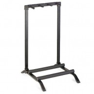 Stagg Model SG-A010/3BK - Black Guitar Display Rack, Holds 3 Guitars - NEW