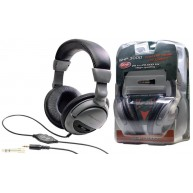 Stagg Model SHP-3000H DJ Grade Closed-Back Wired Headphones w/Volume Contro