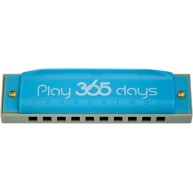 Suzuki PlayPals Harmonica Key of C Sky Blue - Play 365 Days ! #P-365-1SK