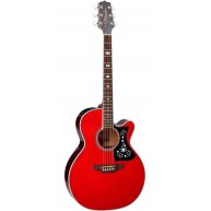 Takamine GN75CE-WR Wine Red NEX Cutaway Body Acoustic Electric Solid Top Gu