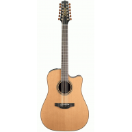 Takamine Pro Series P3DC-12 Acoustic Electric Solid 12-String Guitar with C