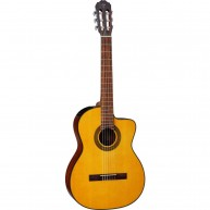 Takamine GC1CE-NAT 6-String Classical Acoustic Electric Guitar, Natural
