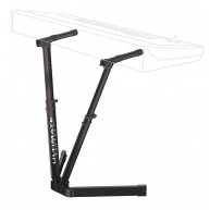 Ultimate Support VS80 V Style Stand for Keyboards DJ Lighting Mixing Consol