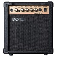 "AXL Model AA-G15-M Guitar Amplifier, 15 Watts with 6.5"" Speaker with Overdr"