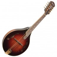 Washburn LTD TCMA43SWK Timeless Collection A Style Mandolin with Case - BLE