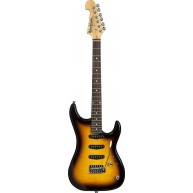 Washburn Sonamaster S3XTS Solid-Body Electric Guitar, Tobacco Sunburst - Bl