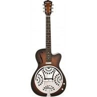 Washburn Model R15RCE Round Neck Resonator Acoustic/Electric Guitar - NEW