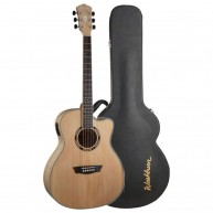 Washburn AG40CEK Grand Auditorium Cutaway Acoustic Electric Guitar with Cas