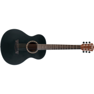 Washburn AGM5BMK G-MINI 5 Apprentice Black Mini Grand Auditorium Guitar w/B