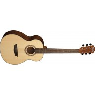 Washburn AGM5K Apprentice G-Mini Acoustic Travel Size Grand Auditorium with