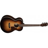 Washburn Revival Solo Deluxe G200SWE All Solid Acoustic Electric Guitar w/C