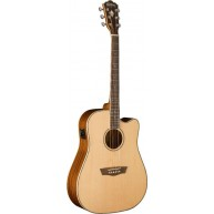 Washburn Solid Alaskan Spruce Top Acoustic Electric Cutaway Dreadnought Gui