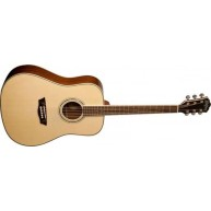 Washburn Model WCD18 Comfort Series Spruce Top Acoustic Dreadnought Size Gu