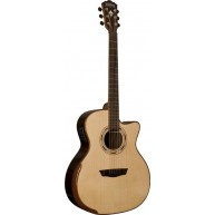 Washburn WCG25SCE Grand Auditorium  Acoustic Electric Solid Top Guitar -BLE