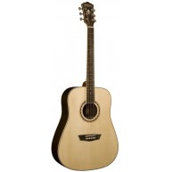 Washburn Model WD20S Solid Sitka Spruce Top Dreadnought Shape Acoustic Guit