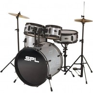 Sound Percussion Labs Kicker Pro - 5 Piece Drum Set with Stands, Cymbals, a