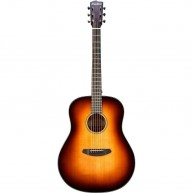 Breedlove Discovery Dreadnought SB Sunburst Acoustic Solid Top Guitar w/Bag