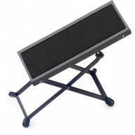 Stagg FOS-A1 BK Black Metal Adjustable Foot Rest for Guitar Players - NEW P