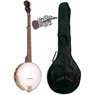 Gold Tone CC-50 Cripple Creek Beginner Banjo Five-String with Bag