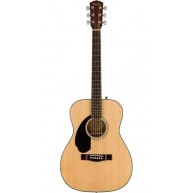 Fender CD-60S LH Left Handed Solid Spruce Top Acoustic Dreadnought Guitar,