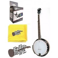 Oscar Schmidt OB4 Gloss 5 string banjo w/resonator  w/Effin Tuner + More!!!