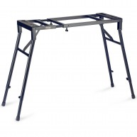 Stagg Model MXS-A1 Adjustable Mixer or Keyboard Stand - Black - Heavy Duty