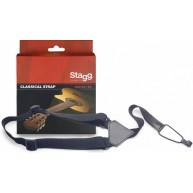 Nylon Strap for Ukulele, Classical guitar, or 1/2 size guitar - Stagg SNCL0