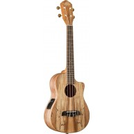 Oscar Schmidt OU8TLCE Spalted Maple Tenor Acoustic/Electric Satin Finish Uk