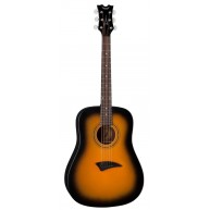 Dean AX D TSBS Guitar - AXS Series Dreadnought Acoustic in Tobacco Sunburst