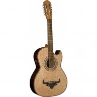 Oscar Schmidt OH32SEQN-O Acoustic Electric Bajo Quinto Maple Top - CITES Sa