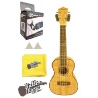 Amahi Concert size Quilted Ash Acoustic/Electric Ukulele with Gig Bag #UK88