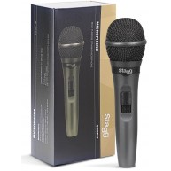 Stagg SDMP15 - Dynamic Cardiod Microphone For Live Performance, On/Off Swit
