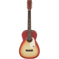 "Gretsch G9500-CHFB Chieftan Red Burst Jim Dandy 24"" Scale Parlor Acoustic G"